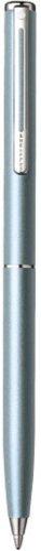 - Sheaffer Agio Frosted Blue Nickel Trim Ballpoint Pen
