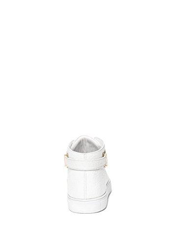 G Ved Gæt Mænds Dwayne Faux-læder Sneakers Hvide CCTrYJOq