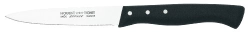 Nogent Expert 3-1/2-Inch Paring Knife, Black Polypropylene Handle by Nogent