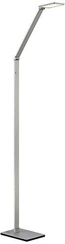 Bentley Floor Lamp - Possini Euro Bentley Aluminum LED Task Floor Lamp