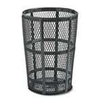 Rubbermaid Commercial Products FGSBR52COB Street Basket, 45 gal
