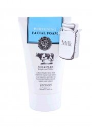 Scentio Milk Plus Whitening Q10 Facial Foam 100ml.