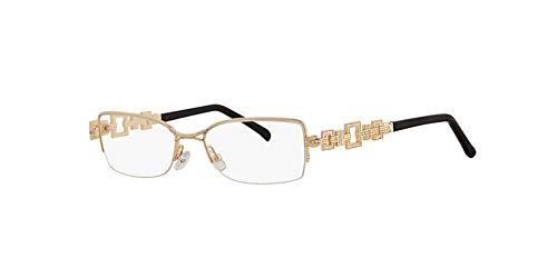 Caviar 4871 Eyeglasses Semi-Rimless C21 Gold Frames Authentic Brand New