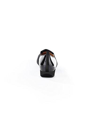 Petra-modèle hassia g-weite pour femme, couleur :  noir