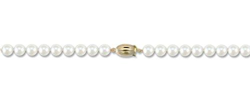 Eau-Collier Femme-Perle de culture 7,5mm-8.0mm or 9carats fermoir 61cm