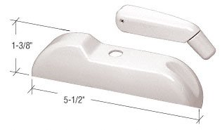 Folding Crank (White Truth Entrygard Plastic Cover With Folding Handle)