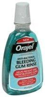 Orajel Anti-bactérienne saignement Gum Rincez-16,00 oz