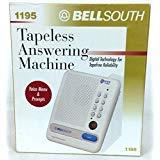 Bellsouth 1195 Tapeless Answering Machine