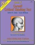 Cornell Critical Thinking Test Level X, Robert Ennis and Jason Millman, 0894552864