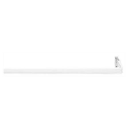 (Kirsch Lock Seam Curtain Rod 1 1/4 Inch Clearance 18