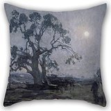 Oil Painting Henry Ossawa Tanner - Abraham's Oak Throw Cushion Covers ,best For Bar,kids Room,husband,couples,divan,boy Friend 16 X 16 Inches / 40 By 40 Cm(each Side)
