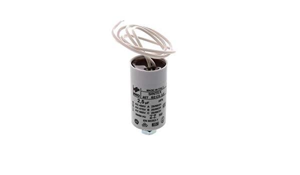 Novy - Condensador para campana extractora (2,5 uF): Amazon.es: Grandes electrodomésticos