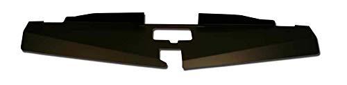 - 69-70 Mustang Radiator Show Filler Panel Black Anodized 69MU-00B