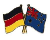 Deutschland-Australien Freundschaftspin