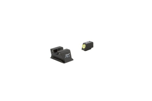 (Trijicon HD Night Sight Set for Walther PPS , Yellow Front Outline)