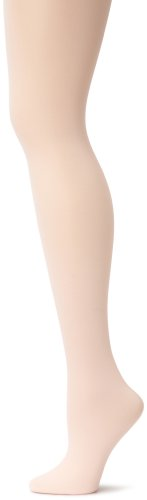 (Capezio Women's Hold & Stretch Footed Tight,Ballet Pink,Small)