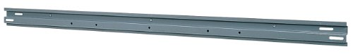 Akro-Mils 30148 48-Inch Steel Rail for Mounting AkroBins, Grey