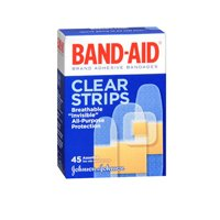 Band-Aid Band-Aid Clear Adhesive Comfort-Flex Bandages Assorted, 45 each (Pack of 2)