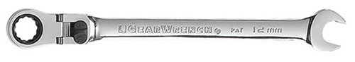 Locking Flex Ratcheting (GearWrench 85612 12mm XL Locking Flex-Head Ratcheting Combination Wrench)