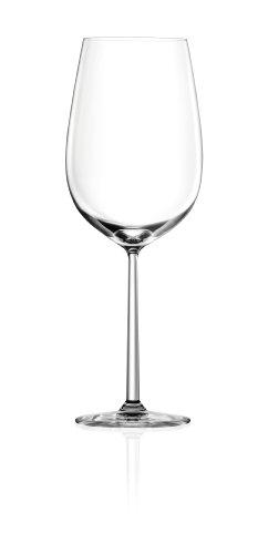 Lucaris Shanghai Soul Bordeaux Wine Glass, 25.5-Ounce, Set of 4 - Lancaster Colony Clear Glass