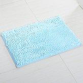 (Squishy Matt - 50x80cm Chenille Soft Mat Machine Washable Bathroom Anti Slip Absorbent Carpet Doormat Rug - Spongy Flatness Woolly Muted Velvety Dull Softened Matte Flossy - 1PCs)