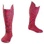 Disguise Inc Spiderman Adult Boot Covers Multicoloured One Size Fits Most