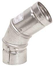 SELKIRK GIDDS-503794 Gas Vent Type B, 5 Ft x 45 60 Deg Adjustable Elbow