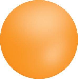 8 Foot Orange Chloroprene Balloon - Pack of 5
