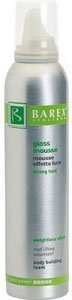 Barex Italia Gloss Mousse, Strong Hold-8.45oz by Barex - Gloss Mousse