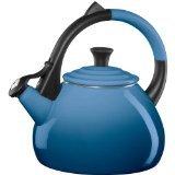 le creuset blue kettle - 3