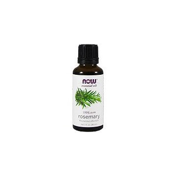 NOW -100% Pure Rosemary Essential Oil, 1-Ounce