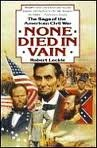 None Died in Vain, Robert Leckie, 0060162805