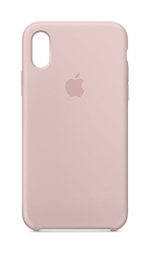 Iphone Pink Silicone (Apple iPhone X Silicone Case - Pink Sand)
