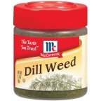 McCormick Dill Weed, 0.3 OZ (Pack - 18)