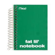 MEA45390 - Mead Fat Lil Fashion Notebook