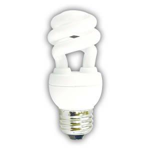 15000 Fluorescent Hour Lamp Compact (23 WATT TINY TWIST SPIRAL CFL/50K 15,000 HOUR FULL SPECTRUM COMPACT FLUORESCENT LIGHT BULB)