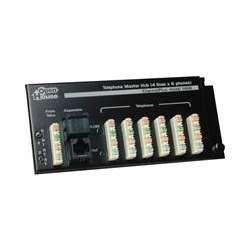 JAYBRAKE Open House H616 4 X 6 Telephone Master Hub