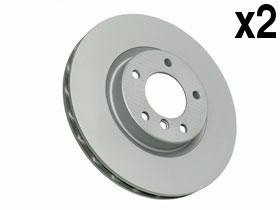 BMW e36 M3 z3M Brake Disc Front 'Z' Coated (x2 rotors) left + ()