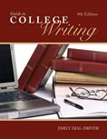 Guide to College Writing, Emily, Dial-Driver, 0757570062