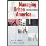 Managing Urban America 9781566430654