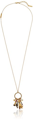 Marc Jacobs Charms Rope Ring Necklace, 32