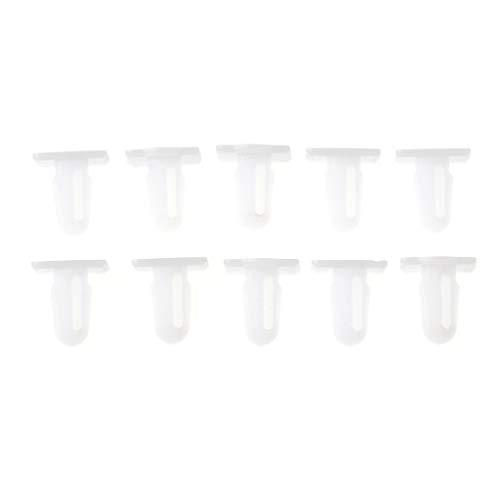 Huilier 10 Pcs Door Sill Covering Trim Moulding Clips for BMW E30 E34 E38 Z4 E81 E46 E84