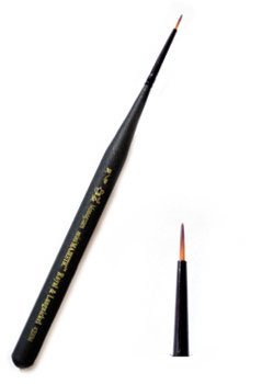 Royal Mini Majestic Monogram Brush - Size-30/0 - 3 Pack