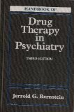 img - for Handbook of Drug Therapy In Psychiatry, 3e by Jerrold G. Bernstein MD (1995-01-15) book / textbook / text book