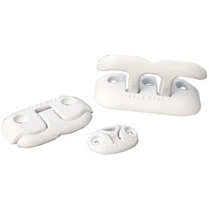 Dock Edge + Almag 35 Flip-Up Dock Cleat, 6-Inch, White