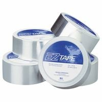 Aquasol Corporation 047-EZ-T2.0 Purge Gas Retaining Tape, 2 in. x 75 ft., Aluminum