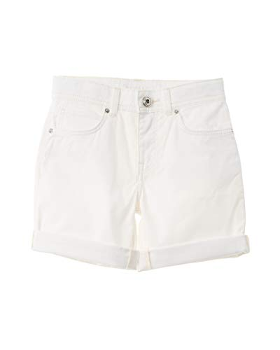 BURBERRY Boys Relaxed Stretch Short, 8Y, White