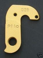 Pilo D39 Gold Derailleur Hanger - Fits:rocky-mountain Vertex, Fusion, Trailhead, Latitude, Etsx Ellsworth Voodoo