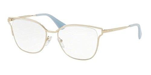 dc5d85513c4 ... australia prada womens cinema glasses pale gold clear one size by prada  51713 b81eb