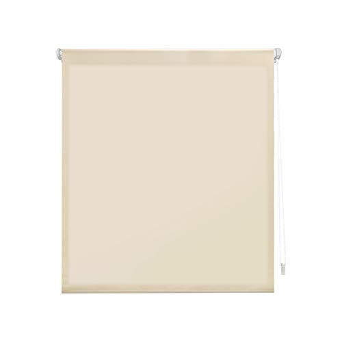 Blindecor-Liso-Aure-SIN-Herramientas-Estor-Enrollable-Traslucido-Poliester-Beige-37X180
